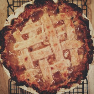 Juniper Pear Pie